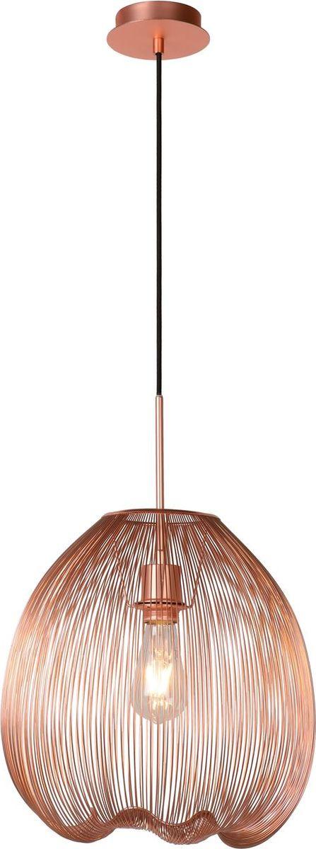 Светильник подвесной Lucide Wirio, цвет: медь, E27, 60 Вт. 20401/35/1720401/35/17
