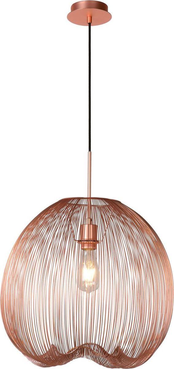 Светильник подвесной Lucide Wirio, цвет: медь, E27, 60 Вт. 20401/45/1720401/45/17