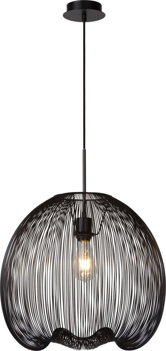 Светильник подвесной Lucide Wirio, цвет: черный, E27, 60 Вт. 20401/45/3020401/45/30