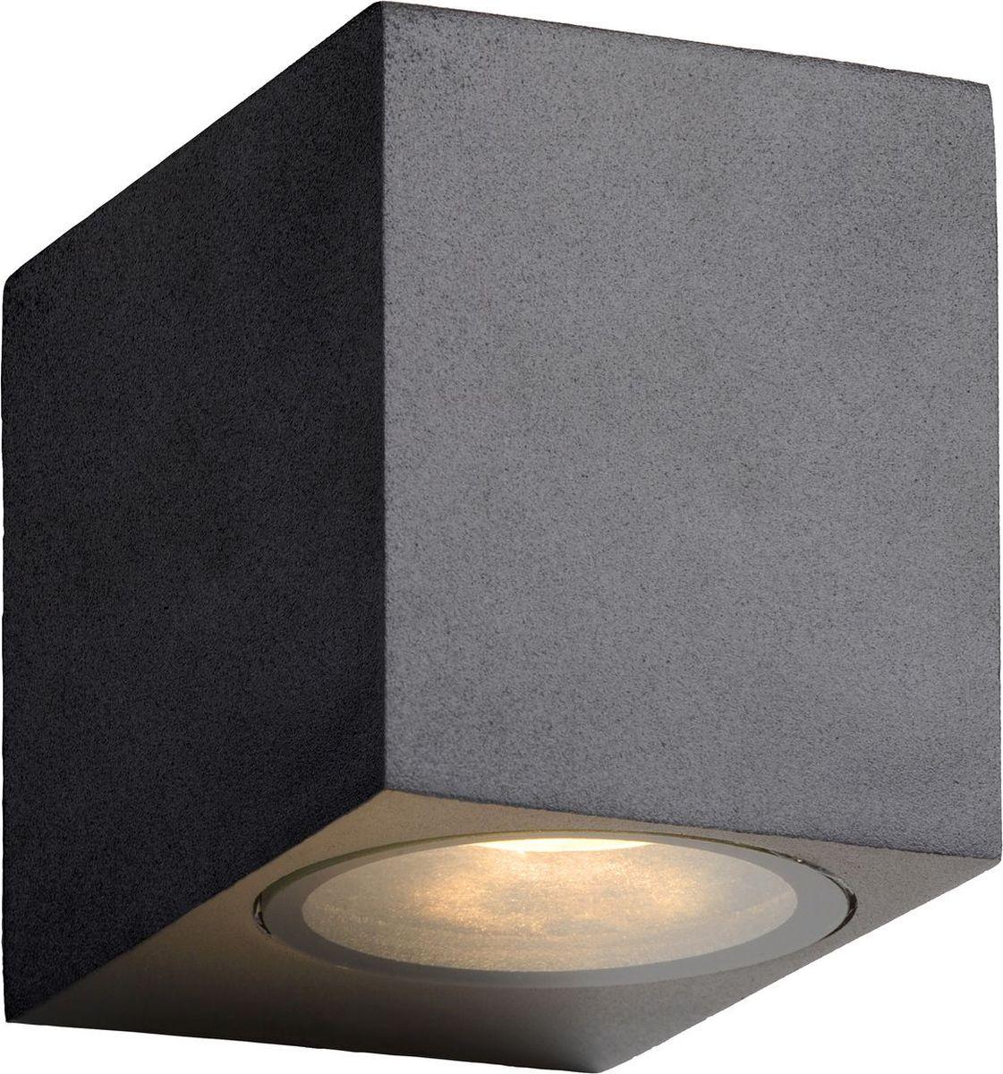 Светильник уличный настенный Lucide Zora Led, цвет: прозрачный, GU10, 5 Вт. 22860/05/3022860/05/30