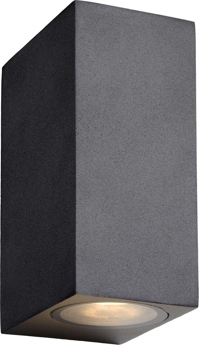Светильник уличный настенный Lucide Zora Led, цвет: прозрачный, GU10, 5 Вт. 22860/10/3022860/10/30