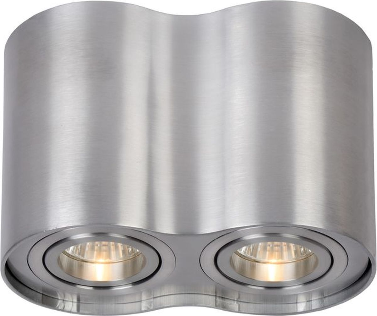 Светильник потолочный Lucide Tube, цвет: хром, GU10, 50 Вт. 22952/02/1222952/02/12