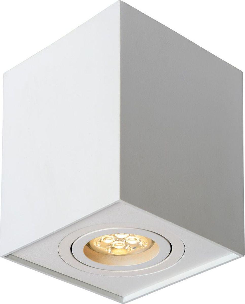 Светильник потолочный Lucide Tube, цвет: белый, GU10, 9 Вт. 22953/01/3122953/01/31