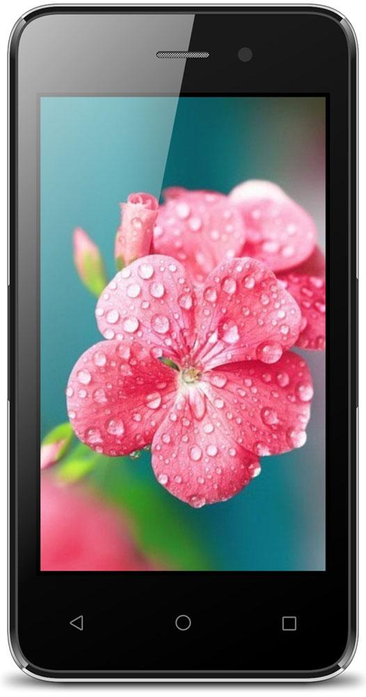 Ark Benefit S403, BlackBenefit S403 BlackArk Benefit S403 станет отличным приобретением для решения повседневных задач.Четырехъядерный процессор Spreadtrum SC7731C имеет тактовую частоту 1.3 ГГц. Разумное распределение мощностей и оптимизированная ОС Android 6.0 делают работу смартфона плавной и комфортной. Смартфон быстро обрабатывает пользовательские запросы и обеспечивает оперативный отклик на прикосновения и быструю работу интерфейса.На ярком дисплее 4 удобно работать в интернете и просматривать фото, а батарея обеспечивает до трёх часов беспрерывного общения.Поддержка работа в 3G сетях даёт возможность мгновенно загружать веб-страницы, общаться в социальных сетях и непрерывно поддерживать связь с родными и близкими.В смартфоне традиционно присутствуют слот для двух SIM-карт. Кроме того, Ark Benefit S403 оснащён модулем навигации GPS, который увеличивает точность определения местоположения, что поможет сориентировать в незнакомой местности.За хранение контента в Ark Benefit S403 отвечает встроенная Flash-память объёмом 4 ГБ, которую при необходимости можно расширить картой памяти ёмкостью до 32 ГБ.Телефон сертифицирован EAC и имеет русифицированный интерфейс меню и Руководство пользователя.