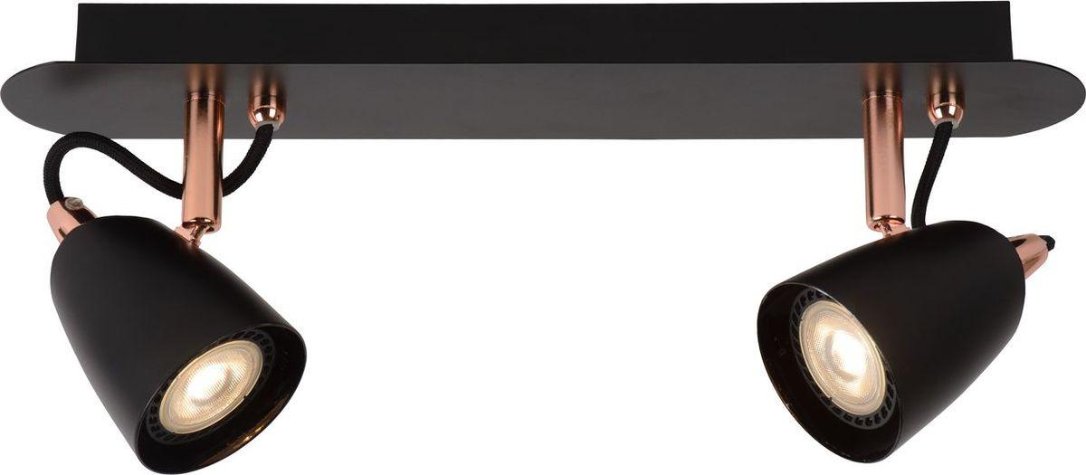 Спот Lucide Ride Led Copper, цвет: черный, GU10, 5 Вт. 26956/10/1726956/10/17