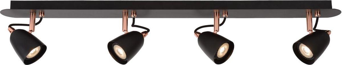 Спот Lucide Ride Led Copper, цвет: черный, GU10, 5 Вт. 26956/20/1726956/20/17