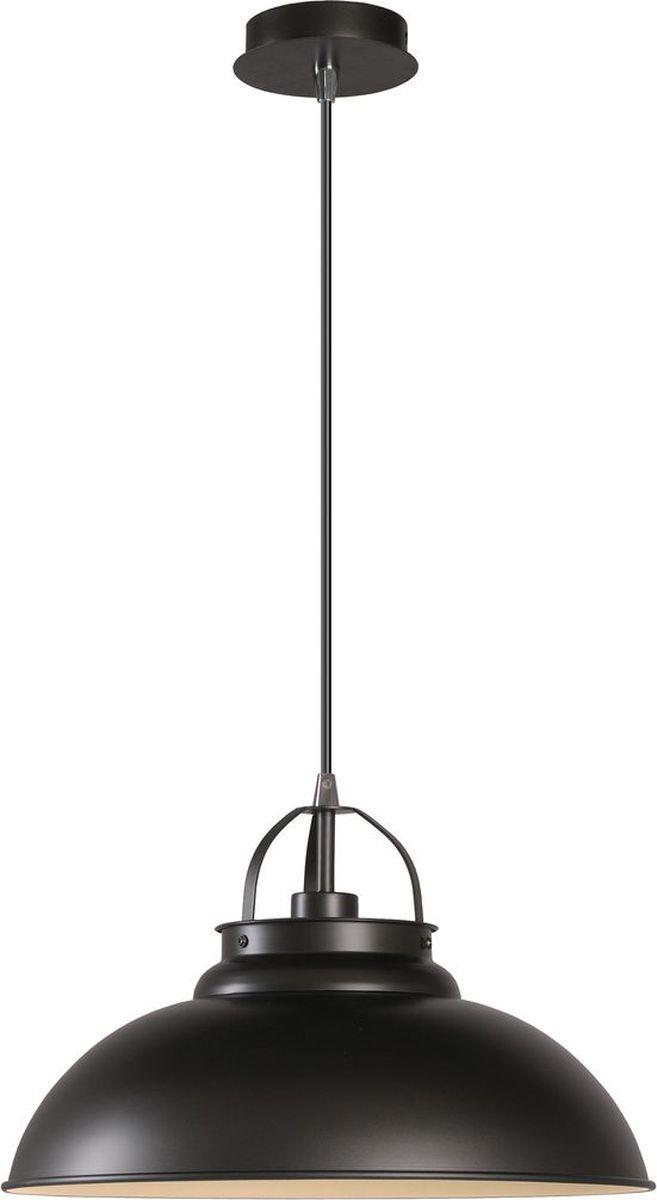 Светильник подвесной Lucide Hamois, цвет: черный, E27, 60 Вт. 31348/01/1531348/01/15