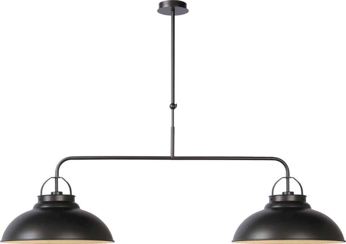 Светильник подвесной Lucide Hamois, цвет: черный, E27, 60 Вт. 31348/02/1531348/02/15