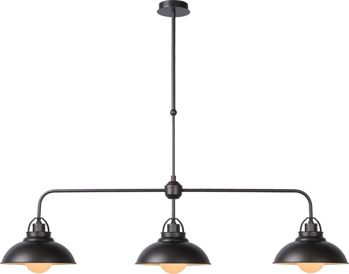 Светильник подвесной Lucide Hamois, цвет: черный, E27, 40 Вт. 31348/03/1531348/03/15
