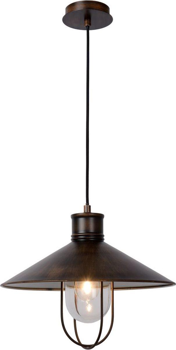 Светильник подвесной Lucide Baarn, цвет: прозрачный, E27, 60 Вт. 31390/01/1731390/01/17