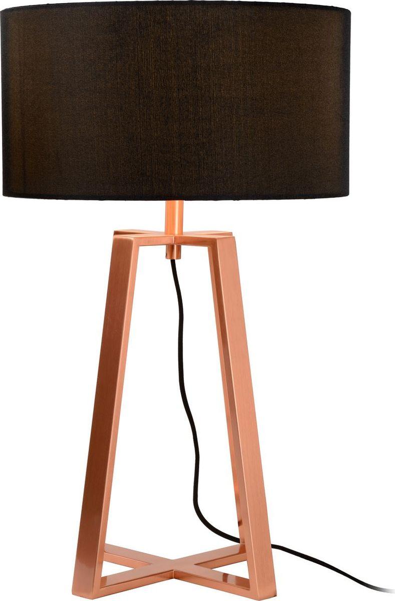 Лампа настольная Lucide Coffee, цвет: черный, E27, 60 Вт. 31598/81/1731598/81/17