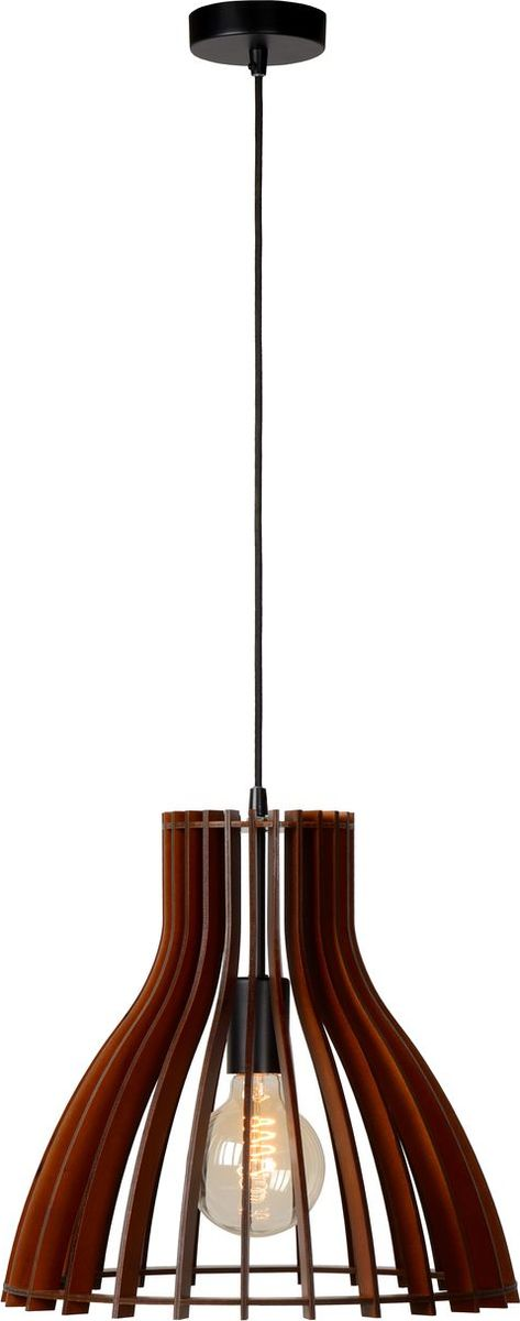 Светильник подвесной Lucide Bounde, цвет: бежевый, E27, 60 Вт. 34425/35/7034425/35/70