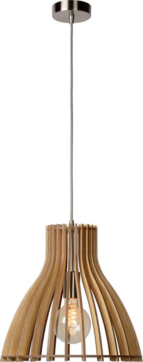 Светильник подвесной Lucide Bounde, цвет: коричневый, E27, 60 Вт. 34425/35/7634425/35/76