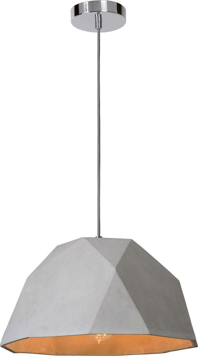 Светильник подвесной Lucide Solo, цвет: серый, E27, 4 Вт. 34426/38/4134426/38/41