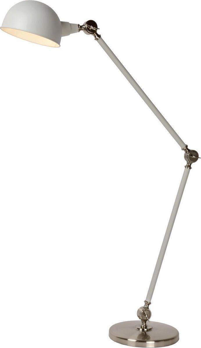 Торшер Lucide Campo, цвет: белый, E27, 60 Вт. 34722/01/3134722/01/31