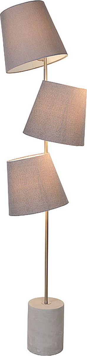Торшер Lucide Arjan, цвет: серый, E14, 40 Вт. 34732/03/4134732/03/41