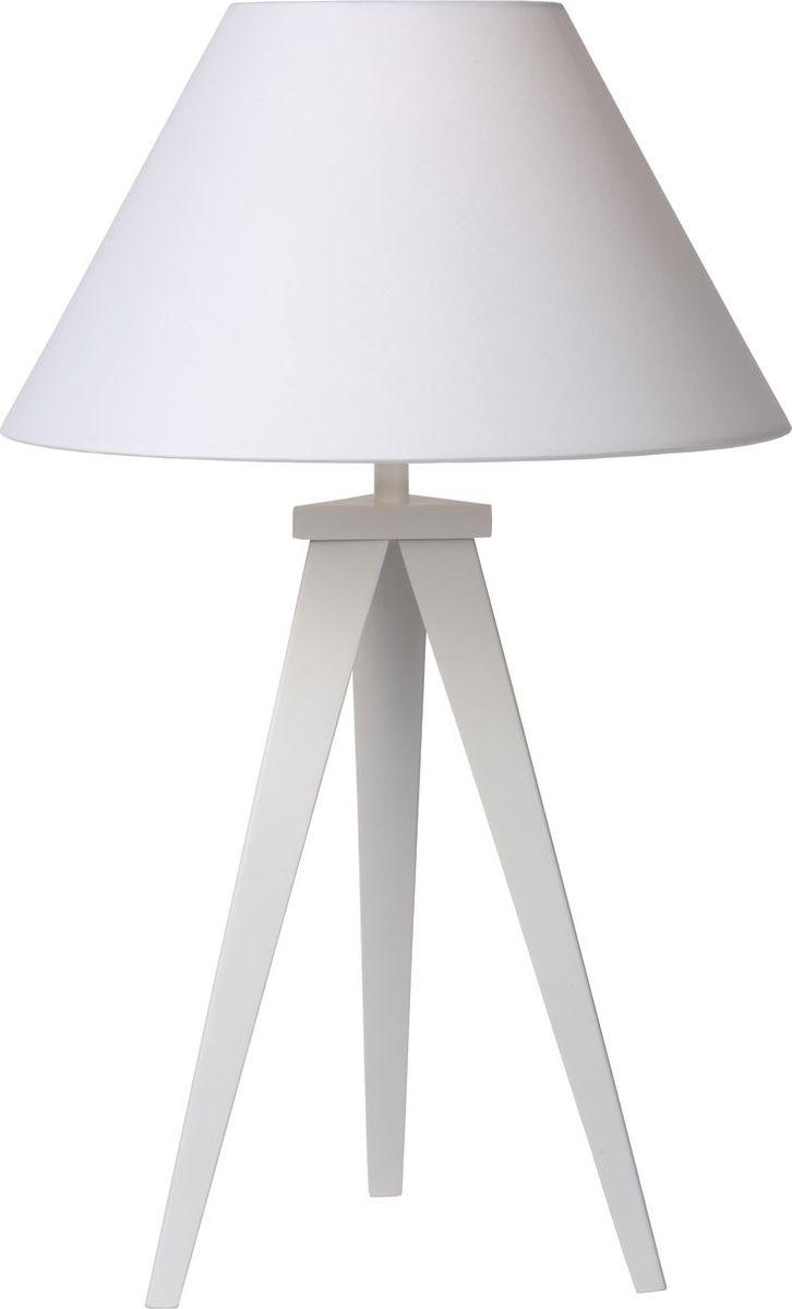 Лампа настольная Lucide Jolli, цвет: белый, E27, 18 Вт. 42502/81/3142502/81/31
