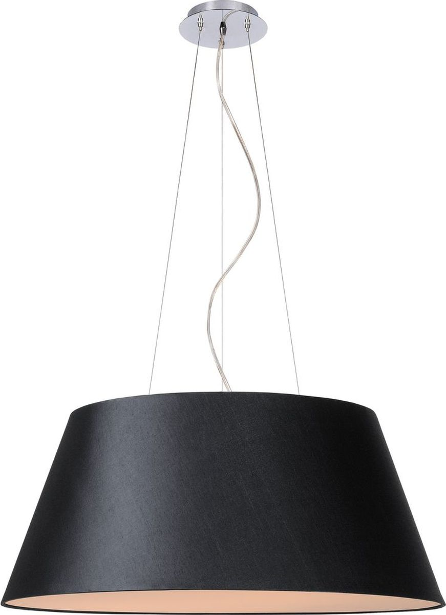 Светильник подвесной Lucide Konic, цвет: черный, E27, 60 Вт. 61454/70/3061454/70/30