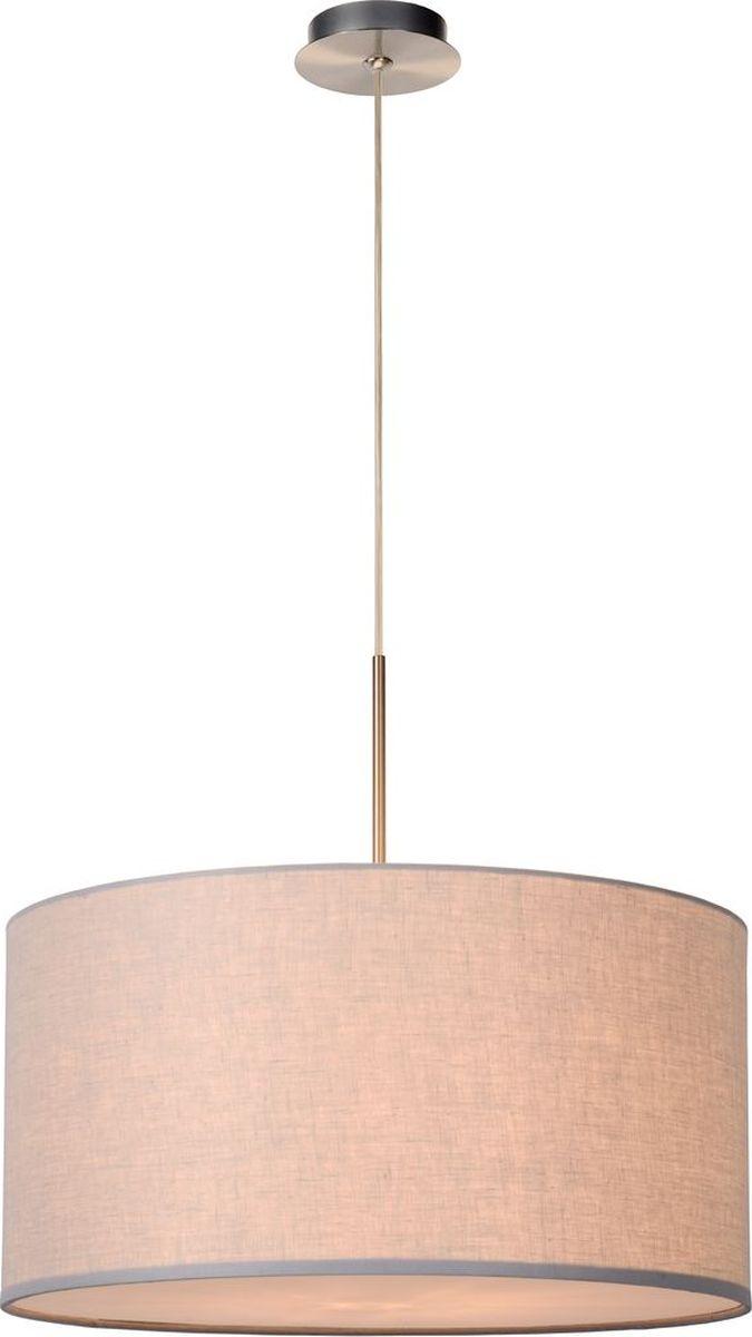 Светильник подвесной Lucide Cliff, цвет: серый, E27, 60 Вт. 61455/50/3661455/50/36