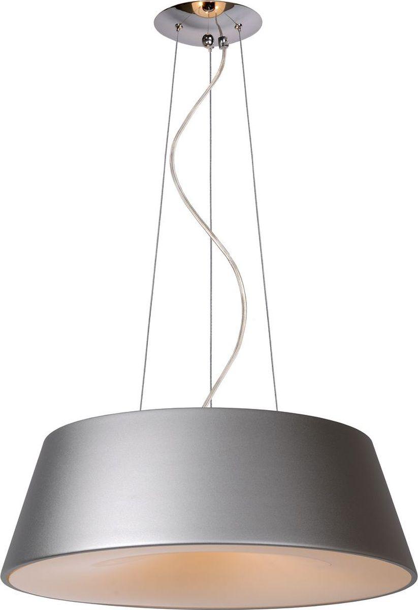 Светильник подвесной Lucide Aiko, цвет: серый, E27, 60 Вт. 70468/58/3670468/58/36