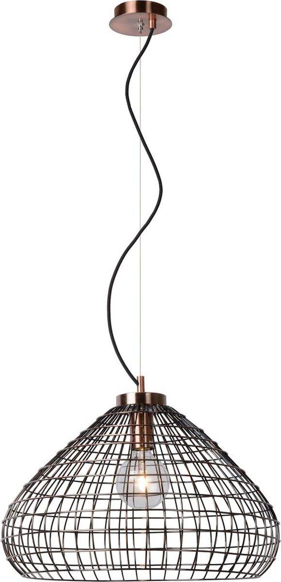 Светильник подвесной Lucide Moino, цвет: медь, E27, 60 Вт. 71360/50/1771360/50/17