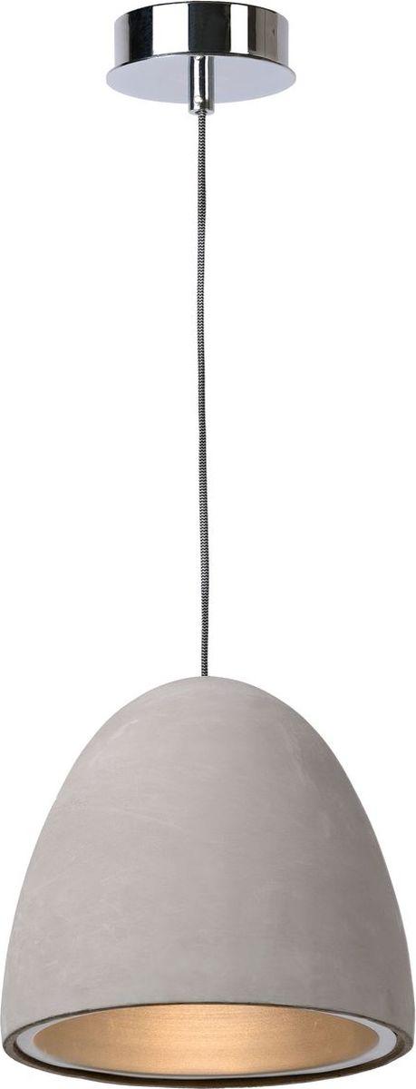 Светильник подвесной Lucide Solo, цвет: серый, E27, 15 Вт. 71437/21/4171437/21/41