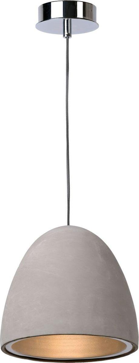 Светильник подвесной Lucide Solo, цвет: серый, E27, 60 Вт. 71437/28/4171437/28/41