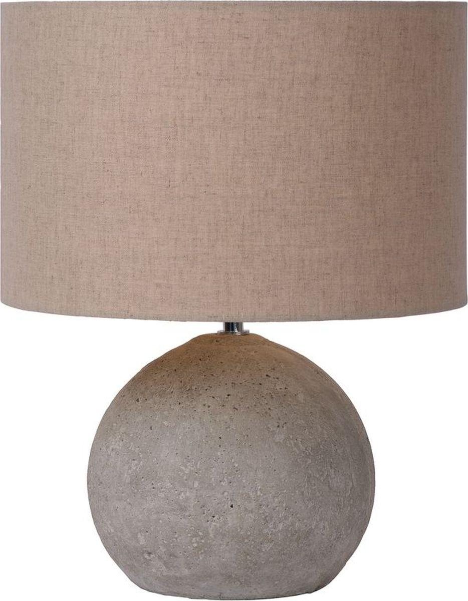 Лампа настольная Lucide Boyd, цвет: серый, E27, 60 Вт. 71540/81/4171540/81/41