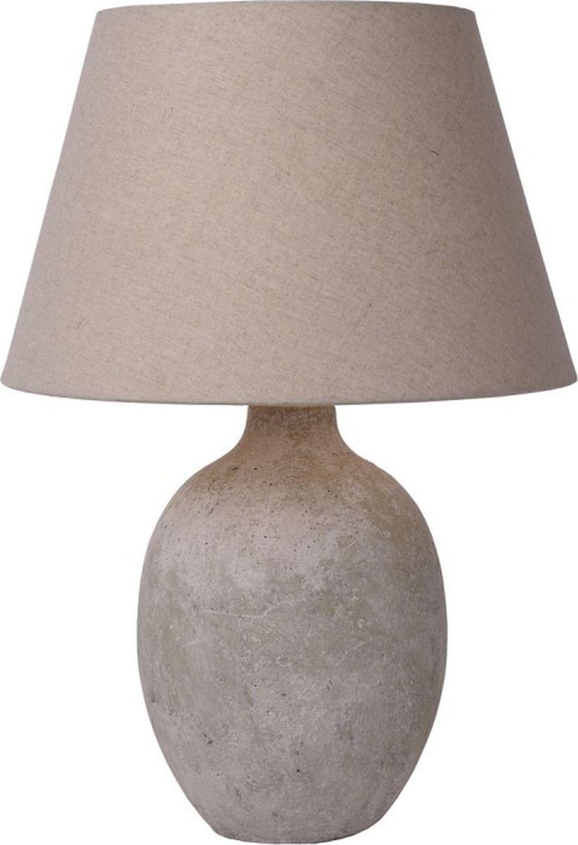 Лампа настольная Lucide Boyd, цвет: серый, E27, 40 Вт. 71541/81/4171541/81/41