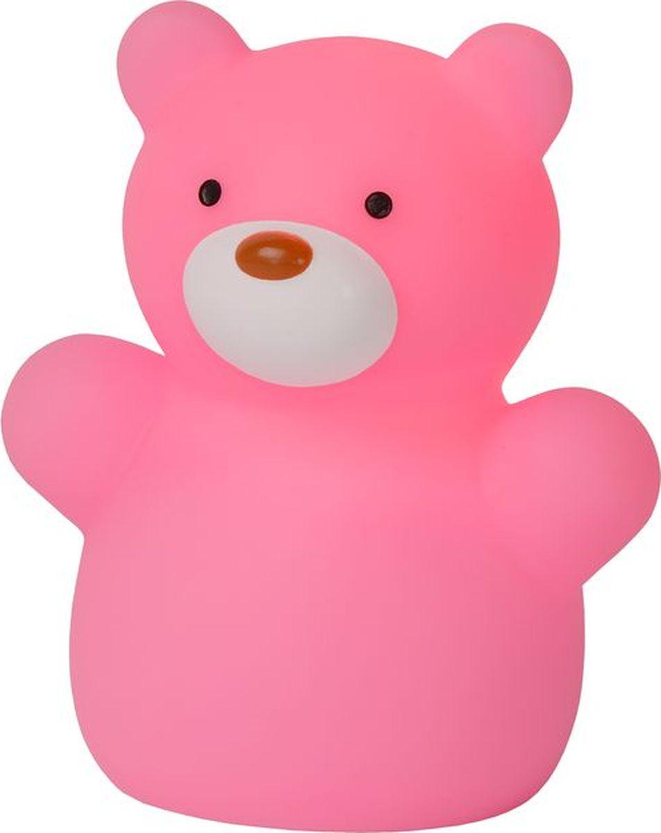 Лампа настольная Lucide Bear, цвет: розовый, LED, 60 Вт. 71554/21/6671554/21/66