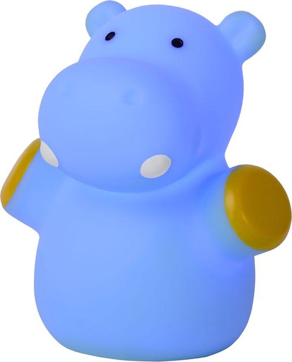 Лампа настольная Lucide Hippo, цвет: синий, LED, 40 Вт. 71556/21/3571556/21/35