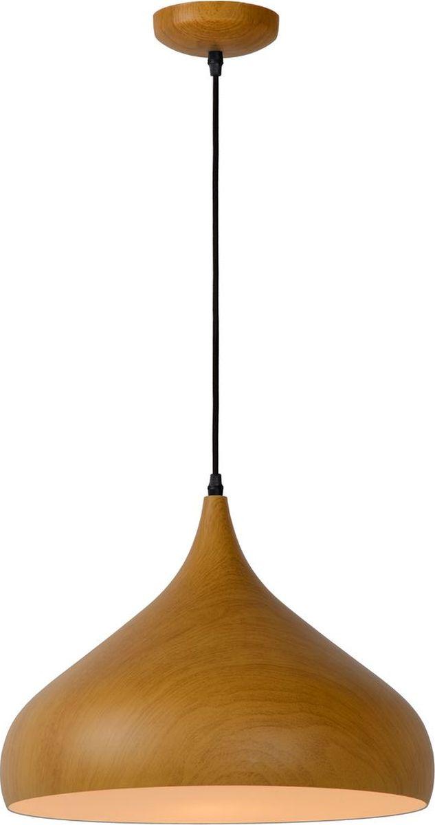 Светильник подвесной Lucide Woody, цвет: коричневый, E27, 60 Вт. 76360/01/7276360/01/72