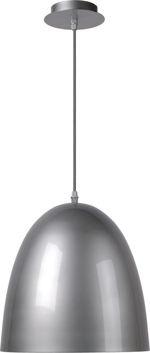 Светильник подвесной Lucide Loko, цвет: серый, E27, 60 Вт. 76456/30/3676456/30/36