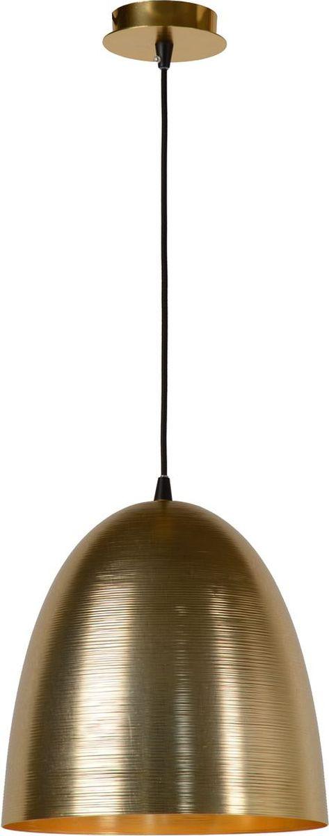 Светильник подвесной Lucide Calais, цвет: золото, E27, 60 Вт. 76459/30/0276459/30/02