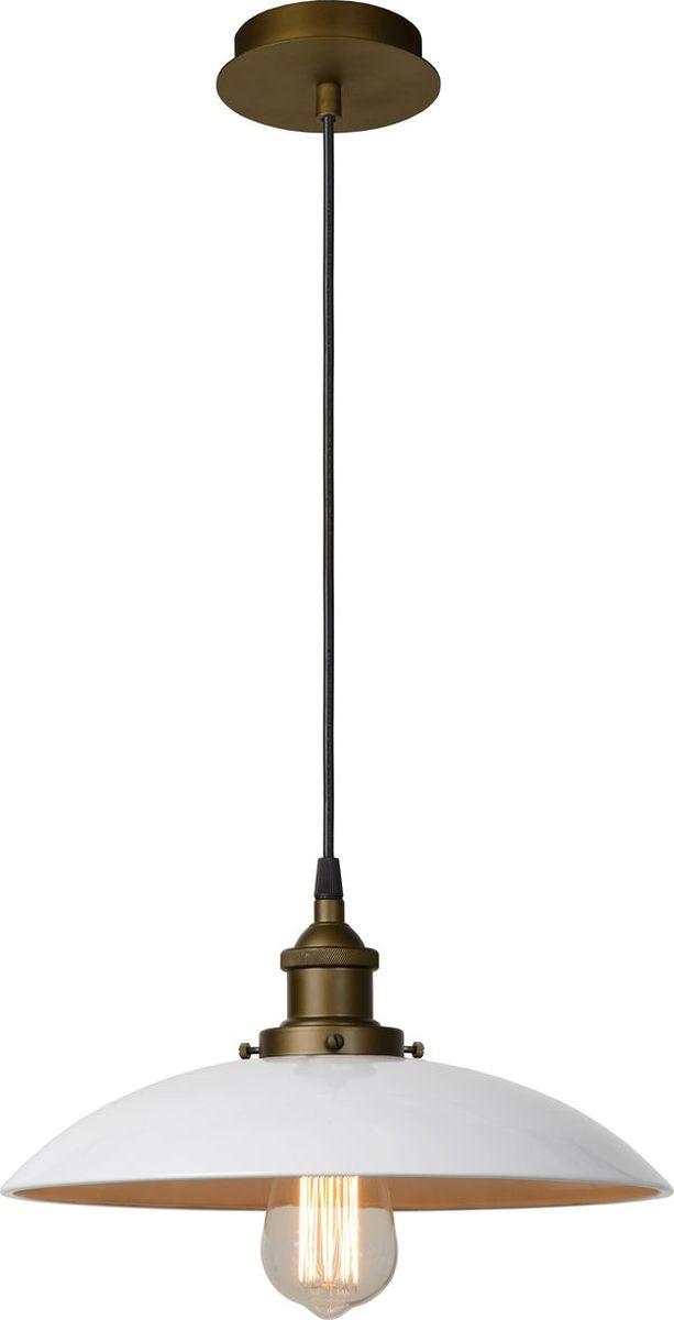 Светильник подвесной Lucide Bistro, цвет: белый, E27, 60 Вт. 78310/32/3178310/32/31