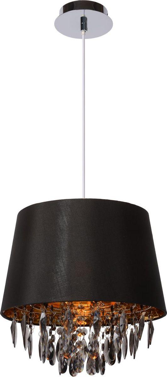 Светильник подвесной Lucide Dolti, цвет: черный, E27, 18 Вт. 78368/30/3078368/30/30