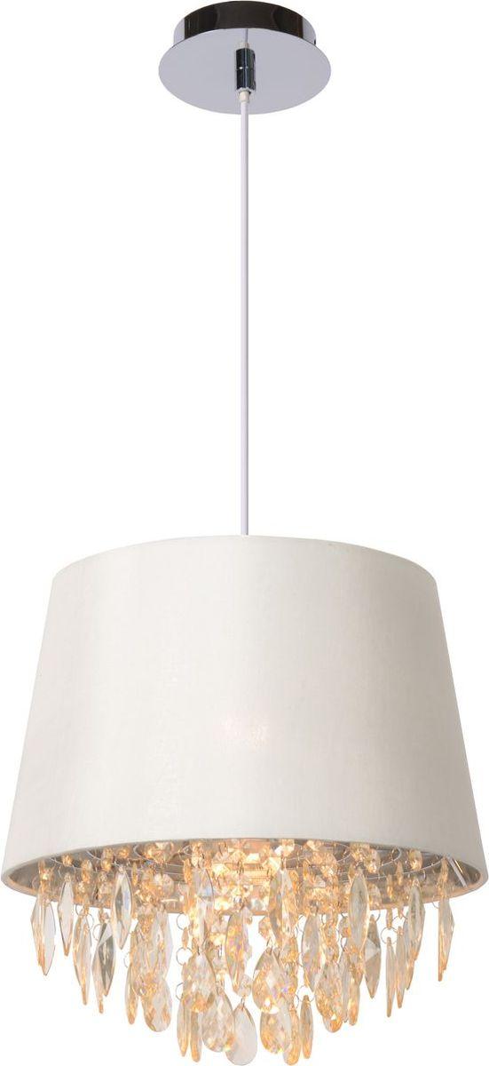 Светильник подвесной Lucide Dolti, цвет: белый, E27, 18 Вт. 78368/30/3178368/30/31