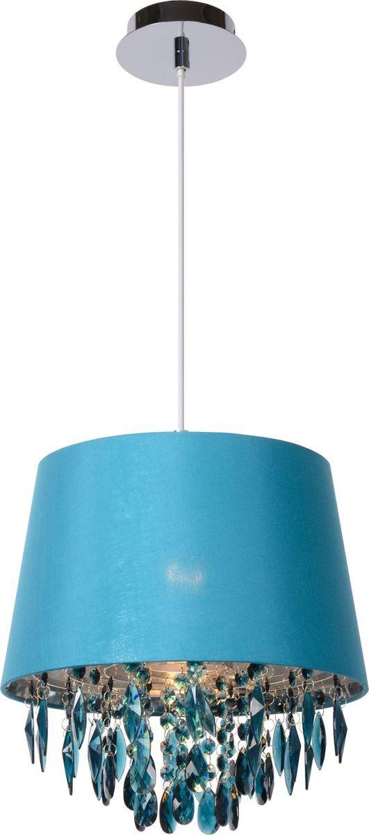 Светильник подвесной Lucide Dolti, цвет: голубой, E27, 18 Вт. 78368/30/3778368/30/37
