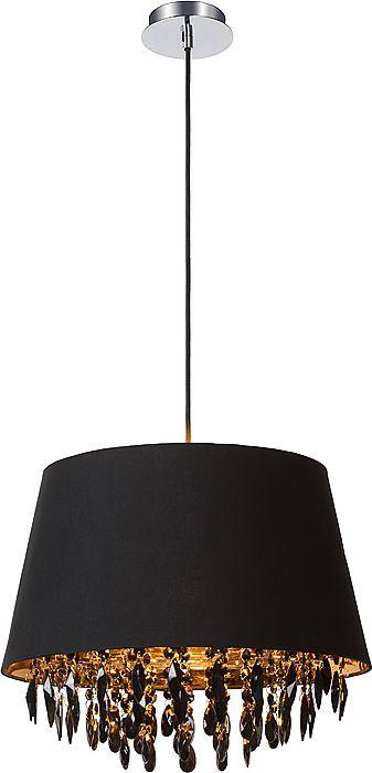 Светильник подвесной Lucide Dolti, цвет: черный, E27, 60 Вт. 78368/45/3078368/45/30