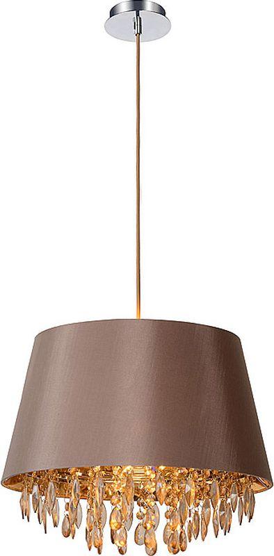Светильник подвесной Lucide Dolti, цвет: серый, E27, 11 Вт. 78368/45/4178368/45/41