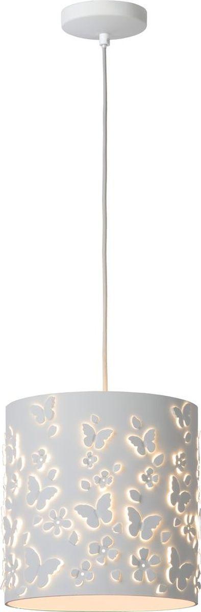 Светильник подвесной Lucide Marguerite, цвет: белый, E27, 60 Вт. 78372/25/3178372/25/31