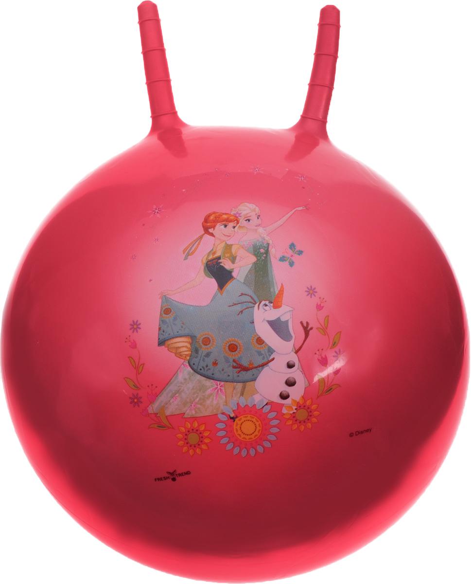 Fresh Trend Игрушка-попрыгун Мяч с рогами Холодное сердце 50 см мягкие игрушки fresh trend мяч мягкий холодное сердце 10 см