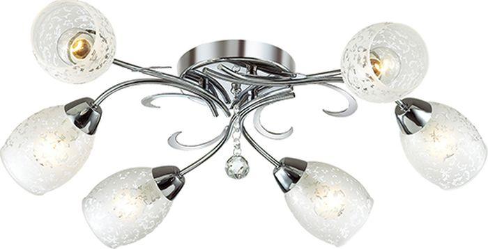 Люстра потолочная Lumion Frimas, цвет: белый, E14, 40 Вт. 2834/62834/6