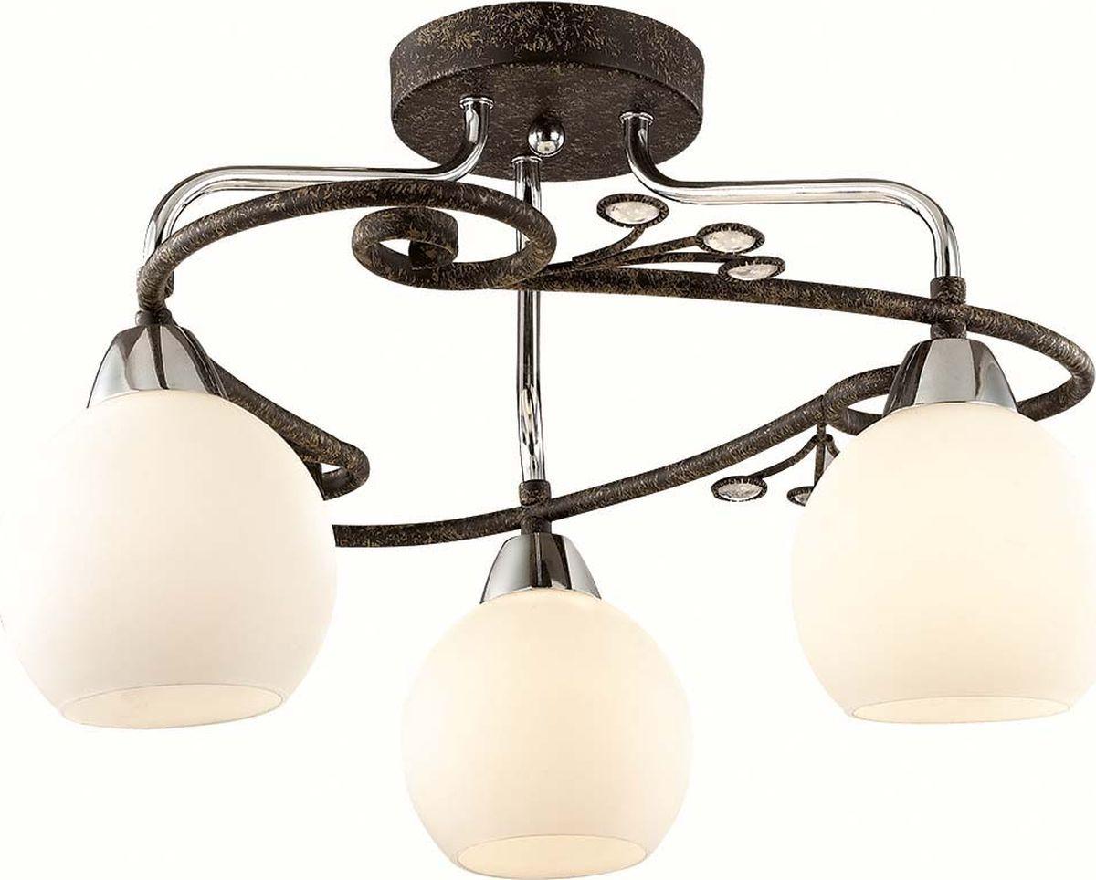 Люстра потолочная Lumion Sivilla, цвет: белый, E14, 40 Вт. 2851/3C2851/3C
