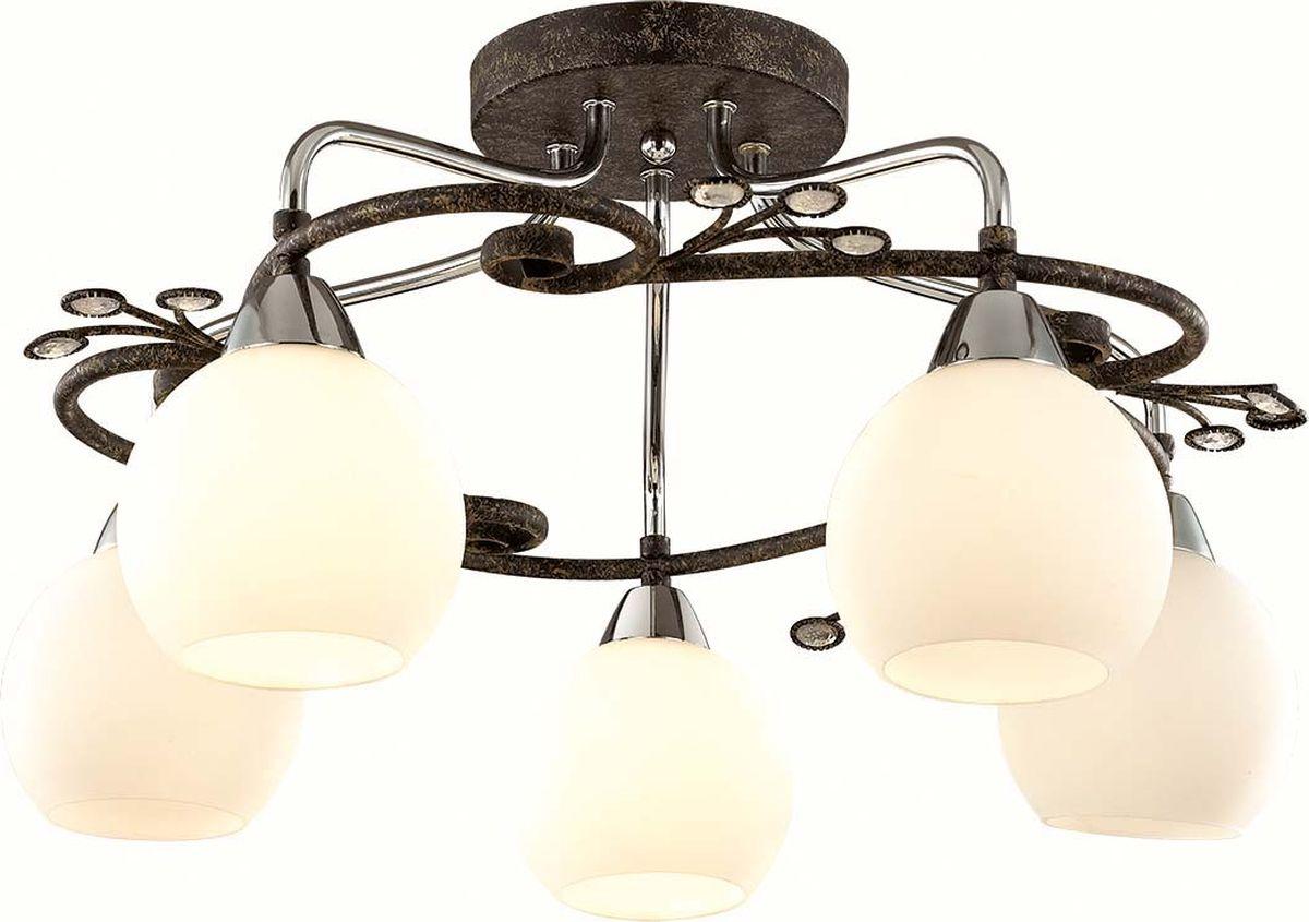Люстра потолочная Lumion Sivilla, цвет: белый, E14, 40 Вт. 2851/5C2851/5C