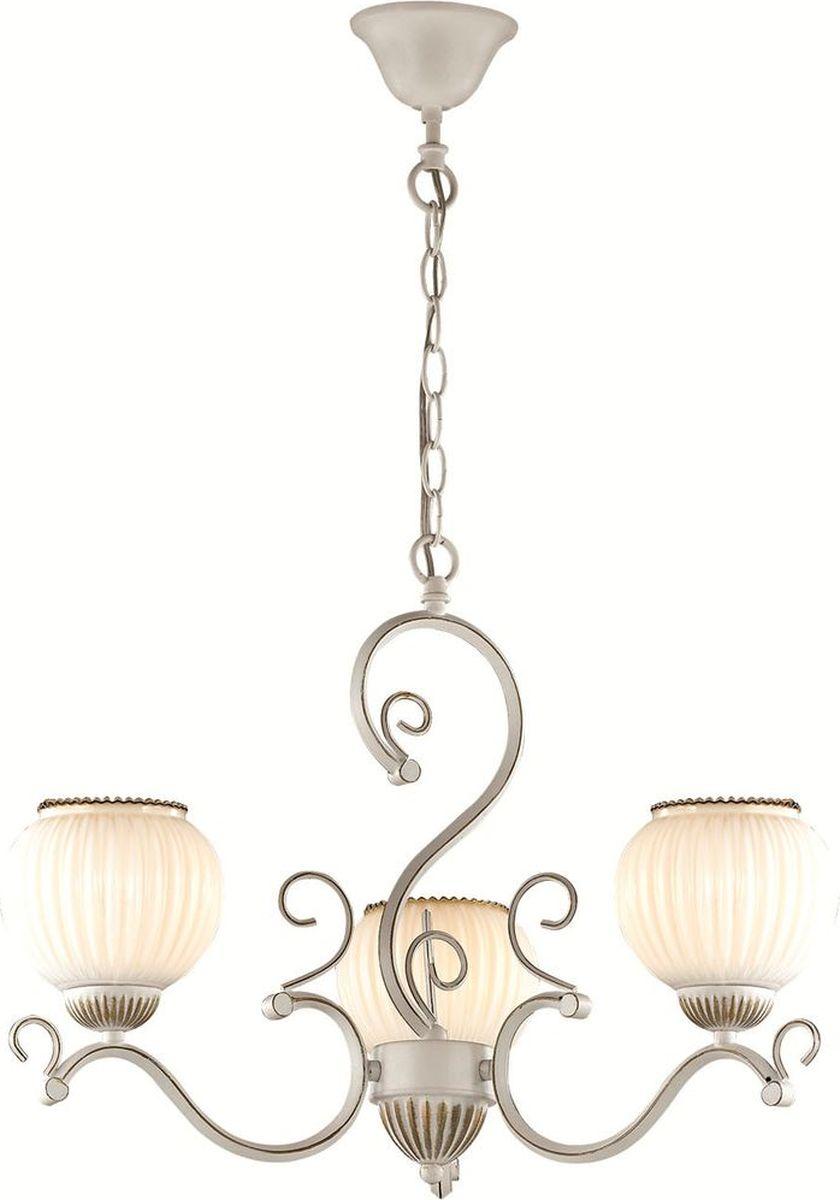 Люстра подвесная Lumion Efetta, цвет: белый, E27, 60 Вт. 2855/32855/3