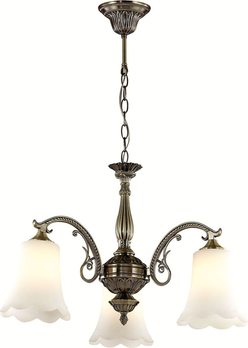 Люстра подвесная Lumion Sonette, цвет: белый, E27, 60 Вт. 2985/32985/3