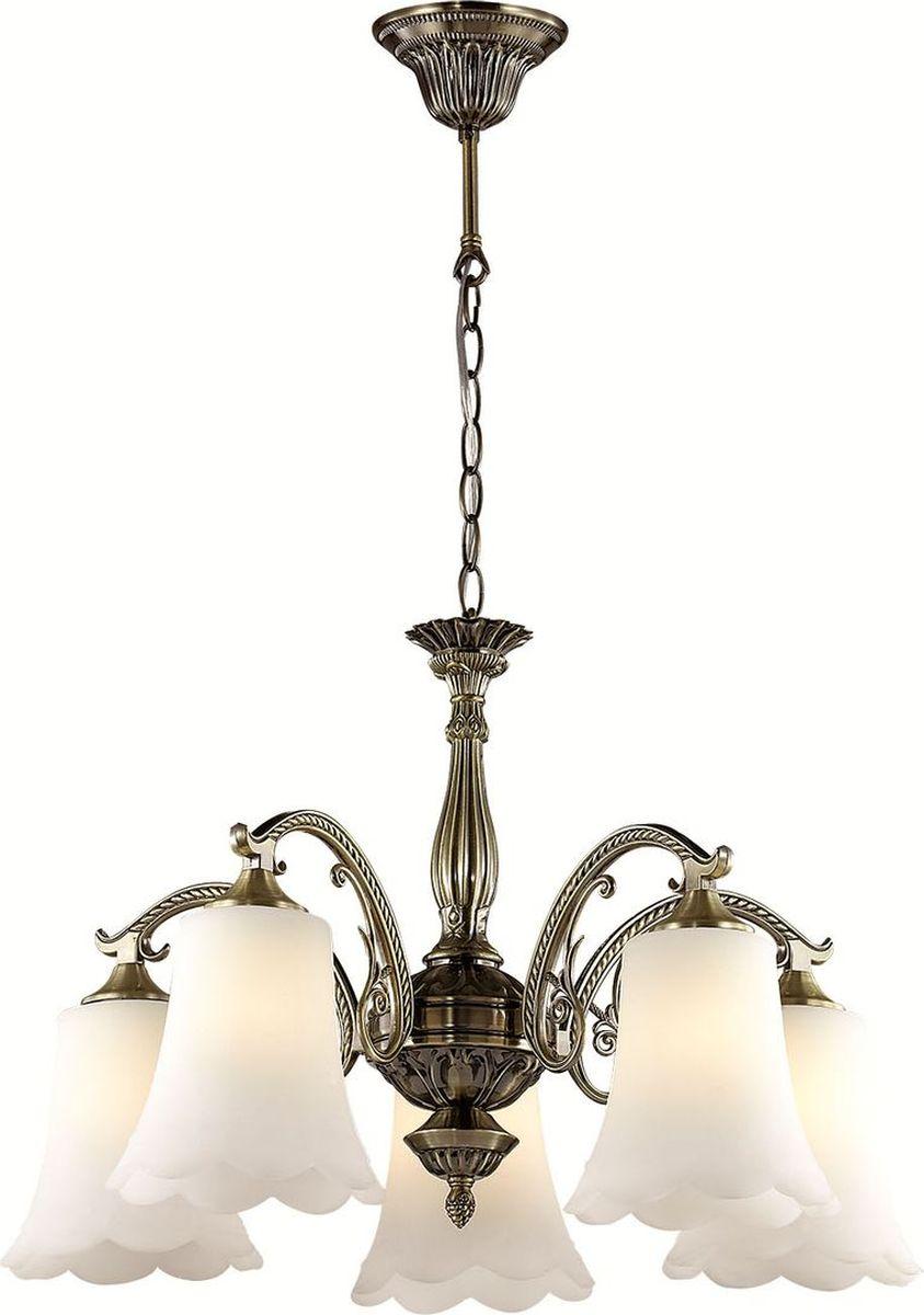 Люстра подвесная Lumion Sonette, цвет: белый, E27, 60 Вт. 2985/52985/5