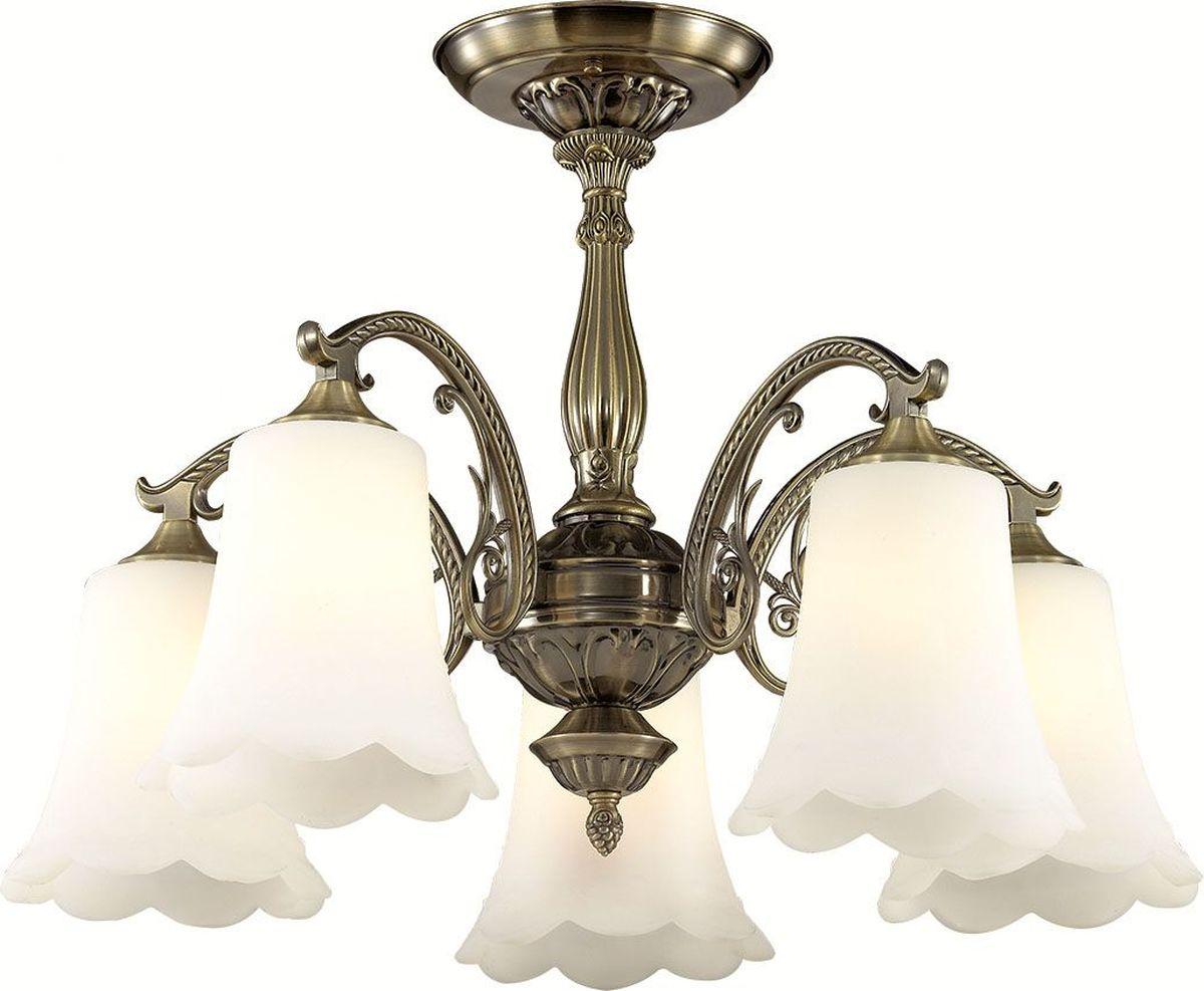 Люстра потолочная Lumion Sonette, цвет: белый, E27, 60 Вт. 2985/5C2985/5C