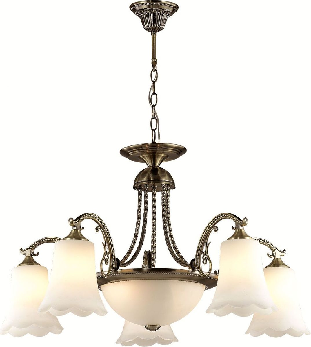 Люстра подвесная Lumion Sonette, цвет: белый, E27, 60 Вт. 2985/7A2985/7A